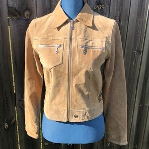 Wilson's Genuine Leather Maxima Zip Up Jacket